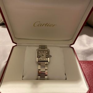 Gently Used Cartier Tank Solo Watch